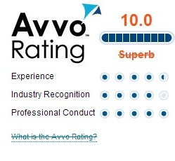 avvo rating for david slepkow